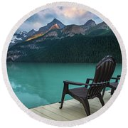 Your Next Vacation Spot Round Beach Towel