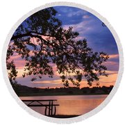 Your Table Is Ready Round Beach Towel