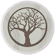 Your Tree Of Life Round Beach Towel