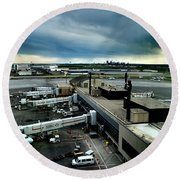 YYC Round Beach Towel