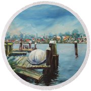 Zaandam Round Beach Towel