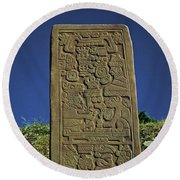 Zapotec History Round Beach Towel by Juergen Weiss