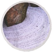 Zen Circle  Round Beach Towel
