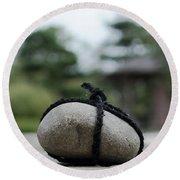 Zen Garden Round Beach Towel