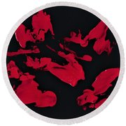Zen Warrior Round Beach Towel