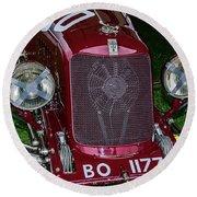 A 1933 Maserati 8c 3000 Biposto Round Beach Towel