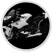 Bmw R1200s Round Beach Towel