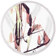 Brown Sugar Round Beach Towel
