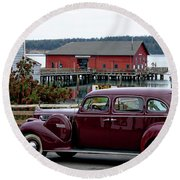 Classic Coupeville Round Beach Towel