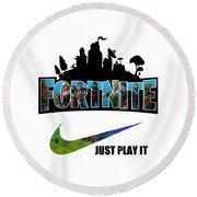 fortnite round beach towel - fortnite round image