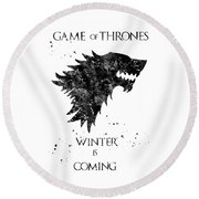 Game Of Thrones Round Beach Towel