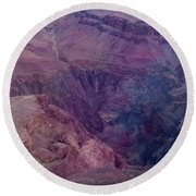 Gorge Round Beach Towel