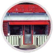 Hackensack, Nj -  Burger Joint 2018 #2 Round Beach Towel