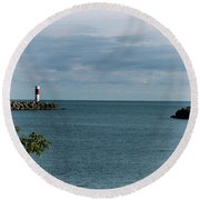 Irondequoit Outlet Round Beach Towel