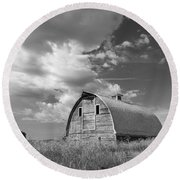 Palouse Barn 9652 Round Beach Towel