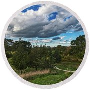 Sagamore Hill Round Beach Towel