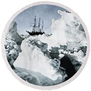 Shackleton Expedition Round Beach Towel by Granger