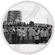 Jose Marti Memorial Round Beach Towel