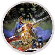 Star Wars The Empire Strikes Back Round Beach Towel