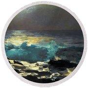 Sunlight On The Coast - Digital Remastered Edition Round Beach Towel
