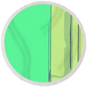 The Chief Clerk Round Beach Towel