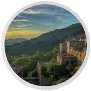 Tivoli Round Beach Towel