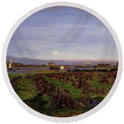 Walton-on-the-naze Round Beach Towel
