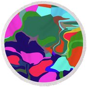 10-19-2008abc Round Beach Towel