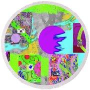 11-16-2015abcdefghijklmnopqrtuvwx Round Beach Towel