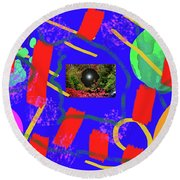 2-27-2009qabc Round Beach Towel