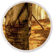 Branch To Branch Round Beach Towel