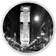 Cbot Round Beach Towel