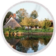Flatford Mill Round Beach Towel