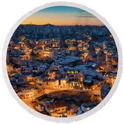 Goreme Round Beach Towel