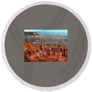 Hoodoo's Bryce Canyon  Round Beach Towel