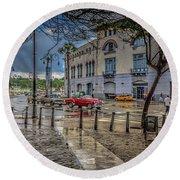 Havana Round Beach Towel