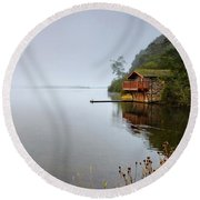 Misty Ullswater Round Beach Towel