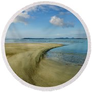 Berneray Round Beach Towel