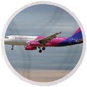 Wizz Air Airbus A320-232 Round Beach Towel