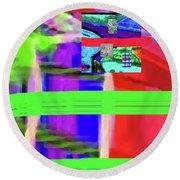 9-18-2015fabcdefghijk Round Beach Towel