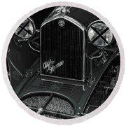 A 1933 Alfa Romeo 6c 1750 Round Beach Towel