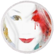 A Girl For These Times Round Beach Towel