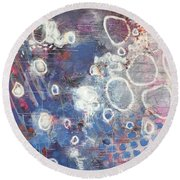A Message Of Love Round Beach Towel