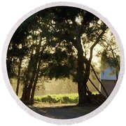 A New Day - Magpie Springs - Adelaide Hills Wine Region - South Australia Round Beach Towel