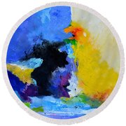 Abstract 779130 Round Beach Towel