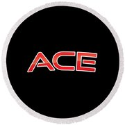 Ace Round Beach Towel