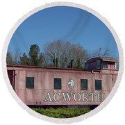 Acworth Ga Round Beach Towel