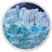 Alaskan Blue Round Beach Towel