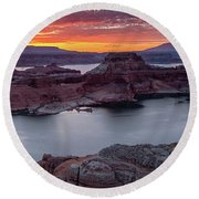 Alstrom Point Round Beach Towel
