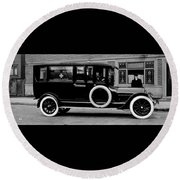 Ambulance - Armstrong And Hotson 1918 Round Beach Towel